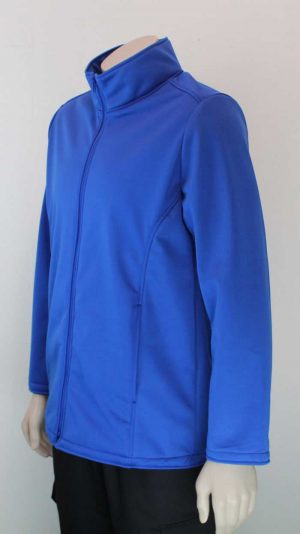 Climate Soft Shell Company Jacket Royal Blue Aspect By Loop Workwear NZ