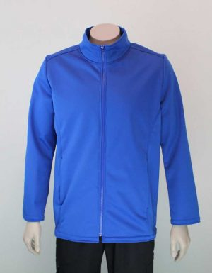 Climate Soft Shell Company Jacket Royal Blue By Loop Workwear NZ