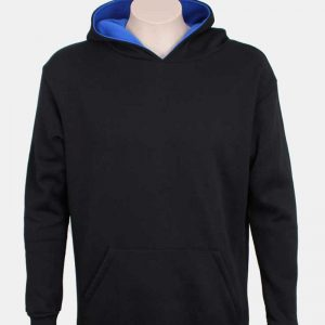 Contrast Hooded Sweatshirt By Loop Workwear NZ