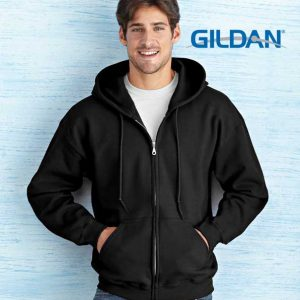 Full Zip Hooded Sweatshirt Men By Loop Workwear