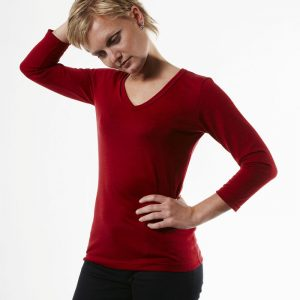 Ladies Merino T Shirt Long Sleeve By Loop Workwear NZ
