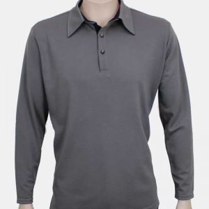 Merino Long Sleeve Polo By Loop Workwear NZ