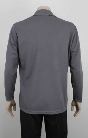 Merino Long Sleeve Polo Back By Loop Workwear NZ