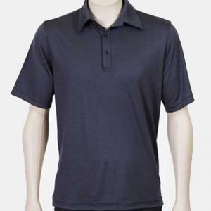 Merino Polo Short Sleeve Shirt Men By Loop Workwear NZ