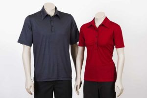 Merino Polo Shirt Short Sleeve Men Women By Loop Workwear NZ