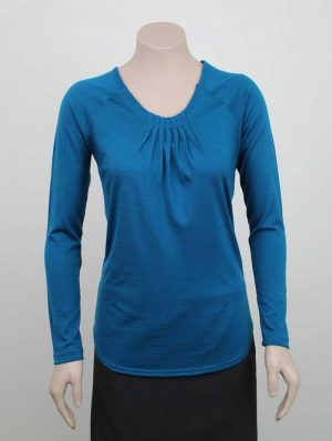 Grace Merino Top By Loop Workwear NZ
