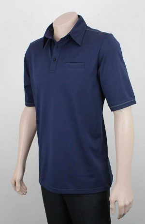 Karaka Workwear Polo Shirt Navy By Loop Workwear NZ