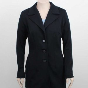 Ladies Merino Wool Coat Loop Workwear