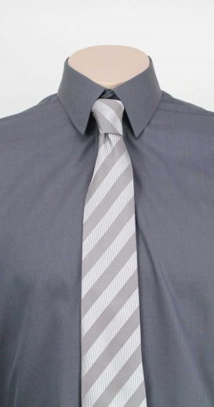 Bombay Egyptian Cotton Shirt and Tie By Loop Workwear NZ