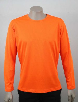 Eco Hi Vis Long Sleeve T Shirt By Loop Workwear NZ