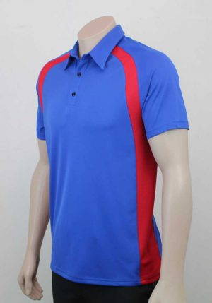 Kea Raglan Sports Contrast Polo Side By Loop Workwear NZ