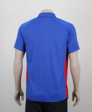 Kea Raglan Sports Contrast Polo Back By Loop Workwear NZ