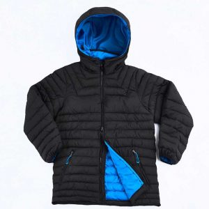 Heli Puffer Jacket Blue By Loop Workwear NZ