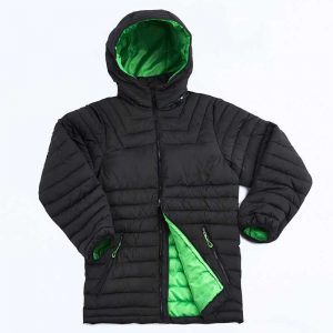 Heli Puffer Jacket Lime By Loop Workwear NZ
