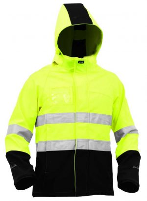 JNPSS YBL Bison Stamina Soft Shell Jacket By Loop Workwear NZ