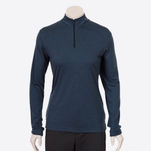Ladies Sharp Merino Zip Long Sleeve By Loop Workwear NZ