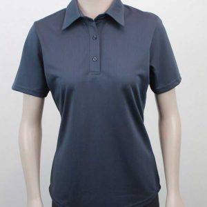 Ladies Pinhole Polo Front By Loop Workwear NZ
