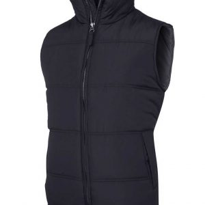 Plain Puffer Vest By Loop Workwear NZ