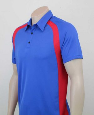 Kea Raglan Sports Contrast Polo Detail By Loop Workwear NZ