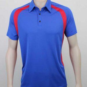Kea Raglan Sports Contrast Polo By Loop Workwear NZ