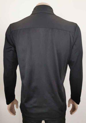 Bio Cotton Long Sleeve Polo Back View Loop Workwear NZ