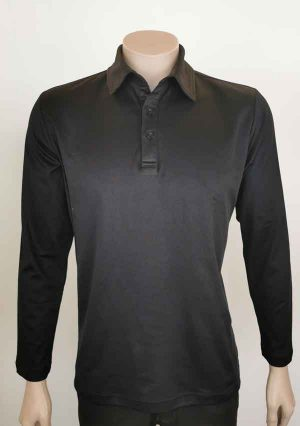 Cotton Long Sleeve Polo By Loop Workwear NZ