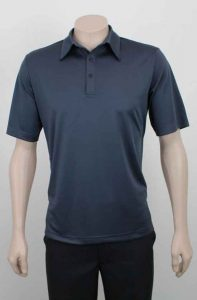 Self Stripe Recycled Polyester Corporate Polo Shirt From Loop Workwear NZ