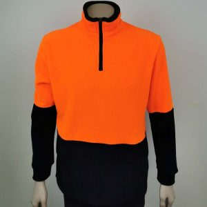 Hi Vis Fleece Sweatshirt