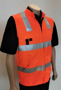 Lyocell And Recycled Polyester Hi Vis Vest Day Night