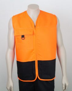 Lyocell & Recycled Polyester Hi Vis Vest