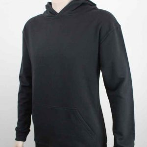 Bio Cotton Work Hoodie Black