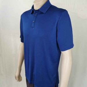 Lyocell Men's Polo Shirt Royal Blue