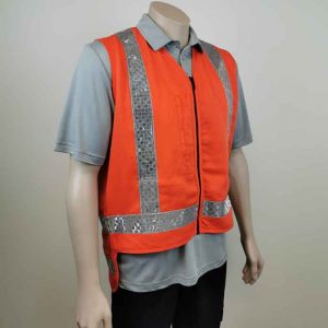 TTMC Hi Vis Vest with Zip Pocket