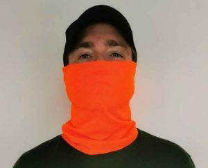 VIROBLOCK Face And Neck Gaiter In Orange