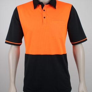Big Men's Hi Vis Polo