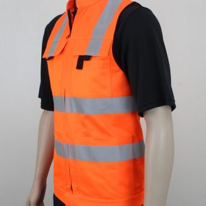 Hi Vis Vest Day Night with Pockets