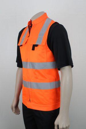 Hi Vis Vest Day Night with Pockets