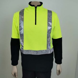 Hi Vis Fleece Pullover Taped