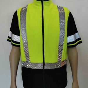 Hi Vis Fleece Vest
