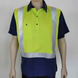 Hi Vis Closed Front Shirt