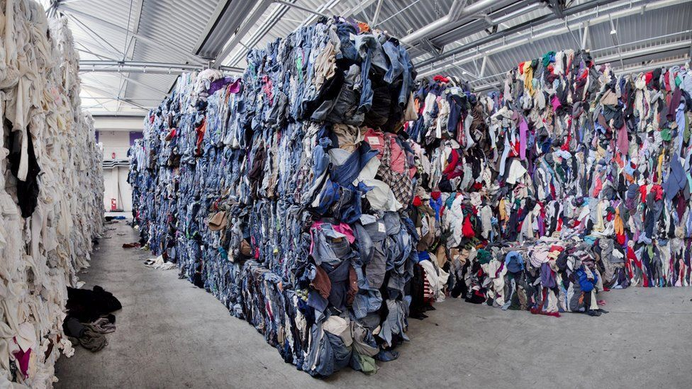 20% of the world's waste comes from the apparel industry