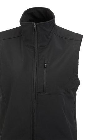 Soft Shell Vest Zip Pockets
