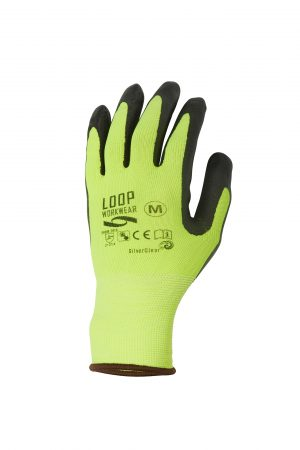 Touchscreen Safety Gloves Yellow