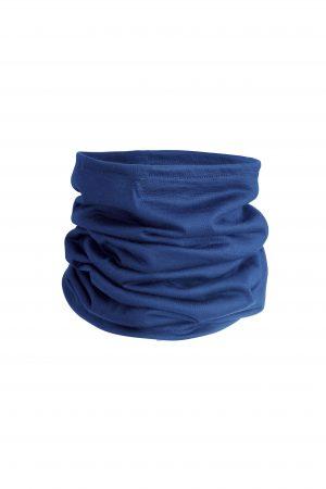 Merino Wool Neck Gaiter Blue Water