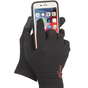 Gloves work with touchscreen