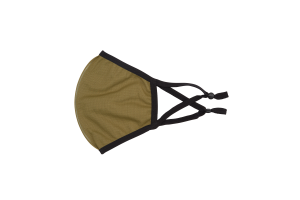 breathable reusable kids face mask in olive